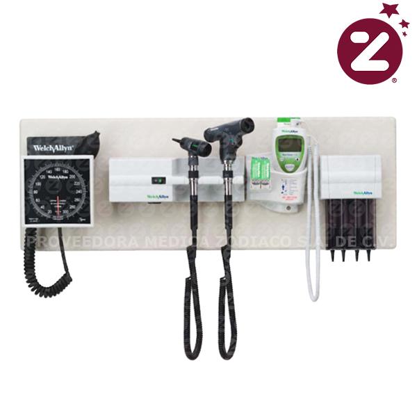 Unidad completa de diagnostico welch allyn medica zodiaco for Tensiometro de pared welch allyn